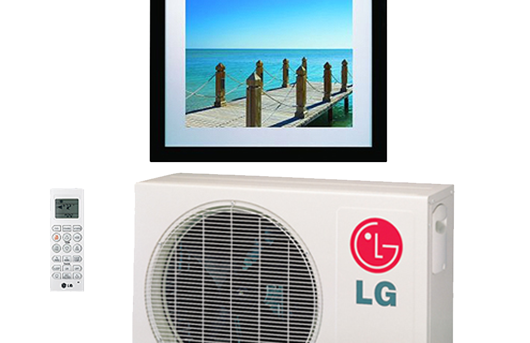 Art Cool Gallery Series Heat Pumps by LG