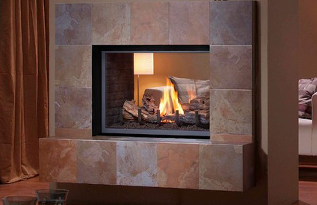 Montigo H38DF-ST See Through Fireplace