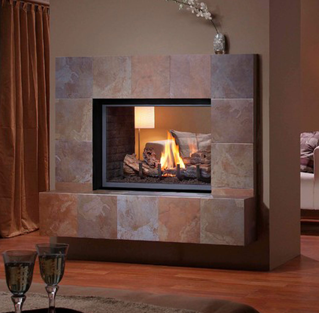Montigo H38df St See Through Fireplace Natural Choice