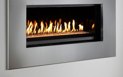 Montigo P Series Stainless Surround Fireplace